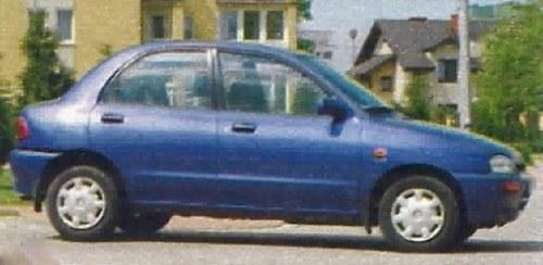 Mazda 121 /Motor