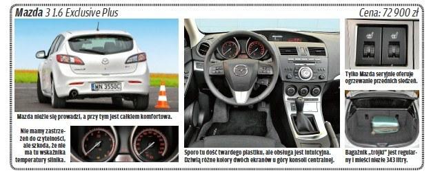 "Mazda 3 /tygodnik ""Motor"""