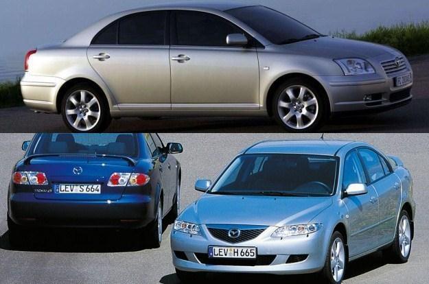 Mazda 6 czy Toyota Avensis? /