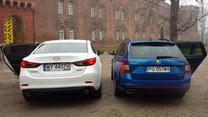 Mazda 6 i Skoda Octavia RS Combi. Azja i Europa