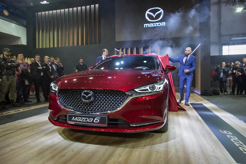 Mazda 6 po modernizacji zadebiutowała w Poznaniu /