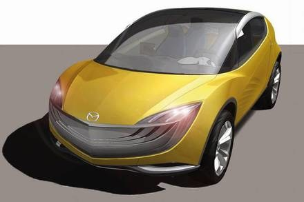 Mazda hakaze / Kliknij /INTERIA.PL