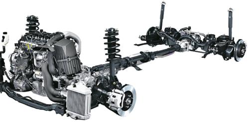 Mazda napęd /Motor