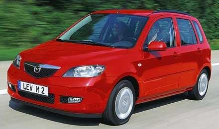Mazda2 - pierwszy Europejczyk /INTERIA.PL