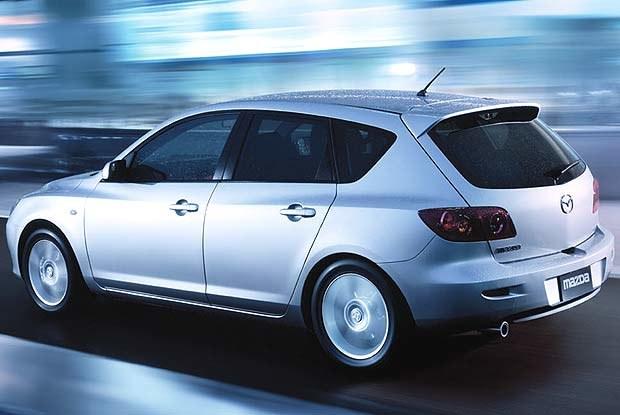 Mazda3 (kliknij) /INTERIA.PL