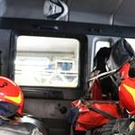 Mazowsze: Wypadek awionetki, runęła na ziemię chwilę po starcie