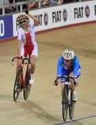 ME: Katarzyna Pawłowska trzecia w wyścigu punktowym