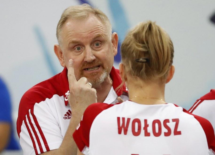 ME siatkarek: Polki zagrają z Azerkami o pierwsze miejsce w grupie /Sergei Ilnitsky /PAP/EPA