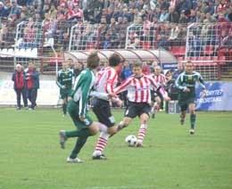 Mecz Cracovii z Legią trzymał w napięciu do samego końca /INTERIA.PL