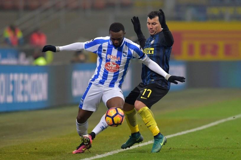 Mecz Inter Mediolan - Pescara /AFP