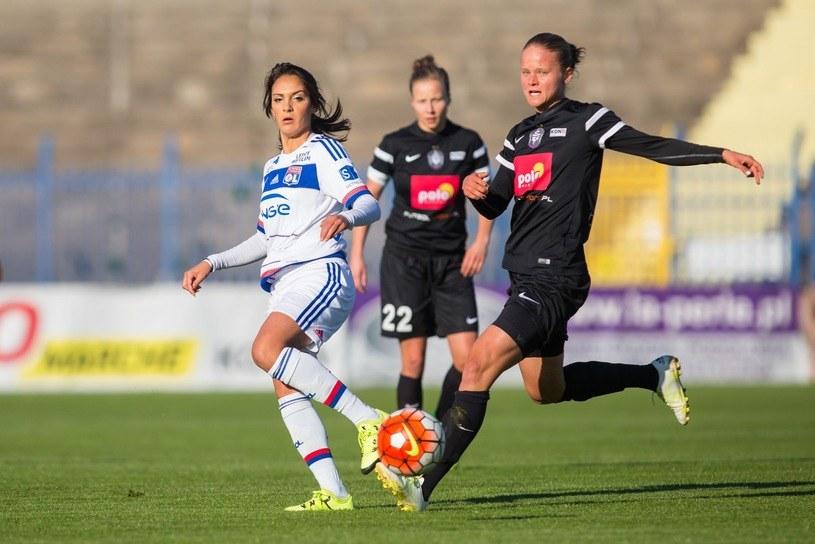 Mecz LM kobiet: Medyk Konin - Olympique Lyon /fot. Przemysław Szyszka/SE /East News