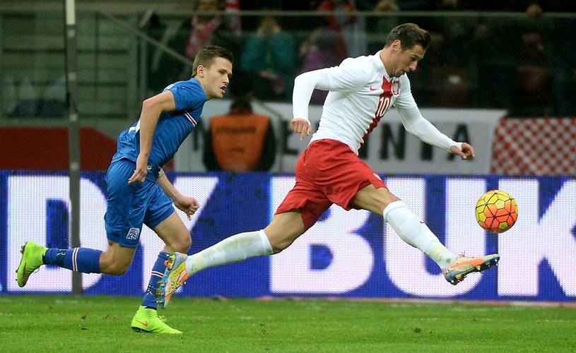 Mecz Polska - Islandia /Bartłomej Zborowski /PAP