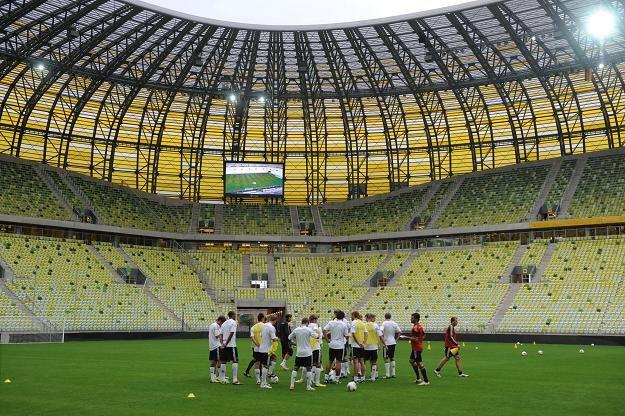 Mecz Polska - Niemcy na PGE Arena w Gdański będzie też sprawdzianem dla strażaków. /PAP