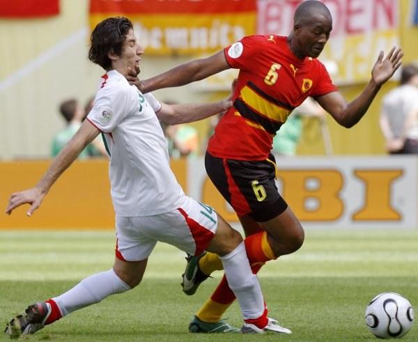 Mecz pomiędzy Iranem i Angolą zakończył się podziałem punktów. /AFP