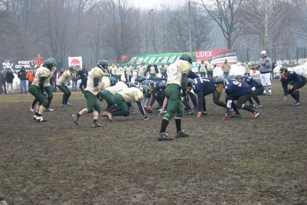 Mecz Warsaw Eagles - Sollerod Gold Diggers zakończył się... remisem 6-6 /Julia Zajączkowska@Warsaw Eagles