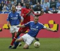 Mecz z Bayernem Tomasz Wałdoch oglądał z ławki rezerwowych. Bayern - Schalke 0:1 /AFP