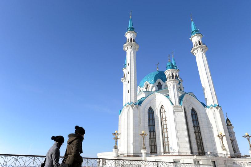 Meczet Kul Szarif w centrum Kazania /AFP