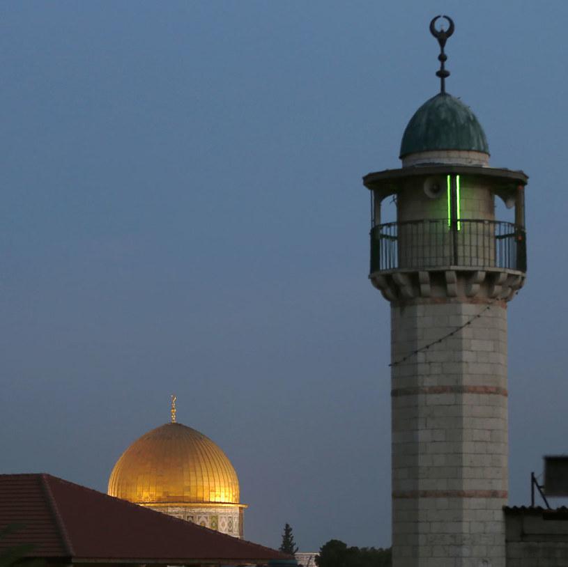 Meczet w Jerozolimie /AHMAD GHARABLI /AFP