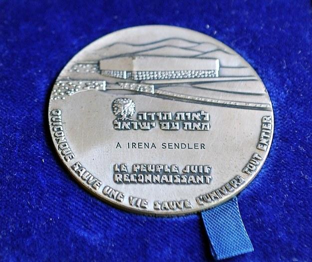 Medal dla Sprawiedliwych wśród Narodów Świata /Jacek Domański /Reporter