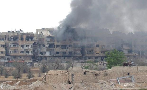 Media: Atak rakietowy na syryjskie bazy w prowincjach Hama i Aleppo
