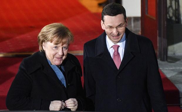 Media po wizycie Merkel: Niemcy i Polska są w punkcie zwrotnym