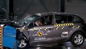 Megane z 3 gwiazdkami Euro NCAP