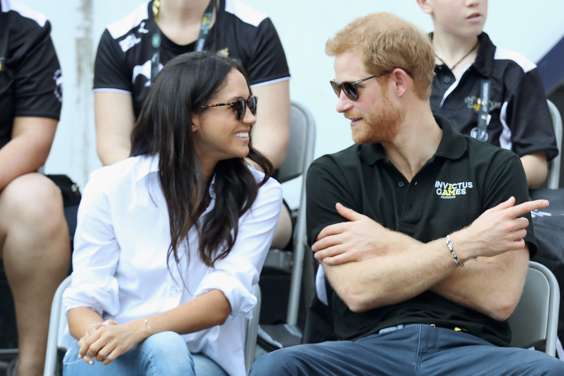 Meghan Markle i książę Harry /Getty Images