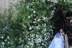 Meghan Markle w sukni ślubnej. To kreacja projektu Clare Waight Keller