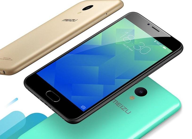 Meizu M5 będzie dostępny w pięciu kolorach /materiały prasowe