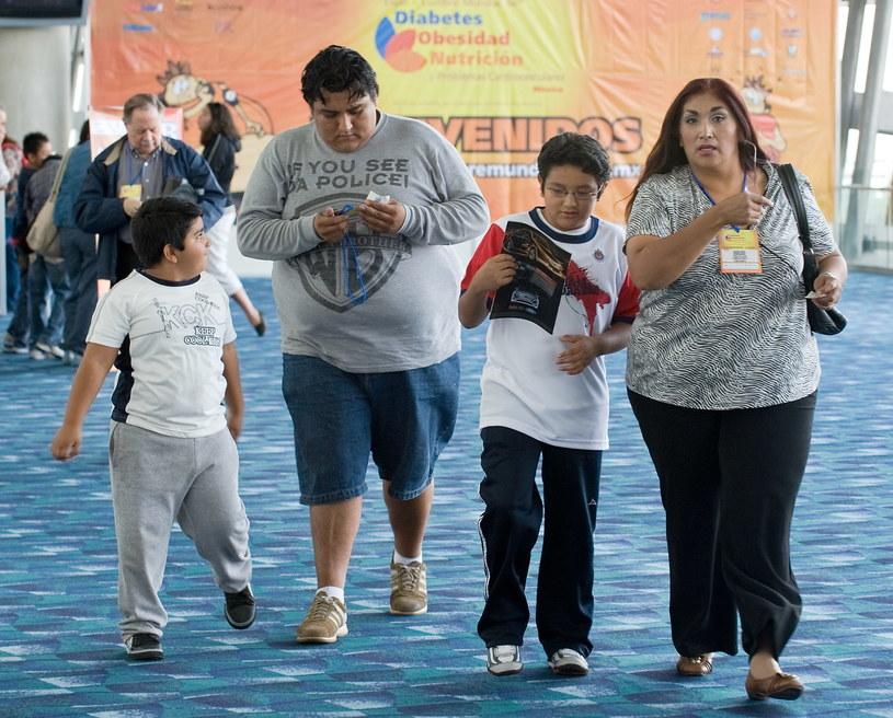 Meksykanie są coraz grubsi /AFP