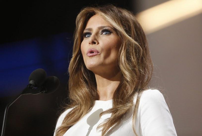 Melania Trump wystąpiła na konwencji Republikanów /PAP/EPA