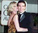 Melanie Griffith i Antonio Banderas /INTERIA.PL