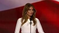 Melanie Trump o miłości do USA i męża