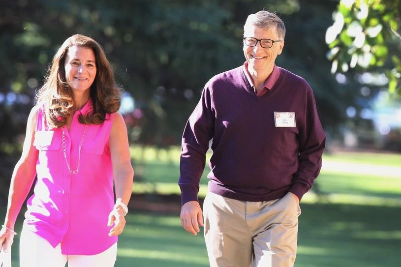 Melinda i Bill Gates /AFP