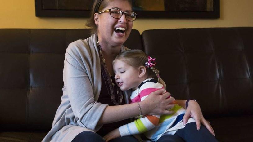 Melissa Benoit z córką /materiały prasowe