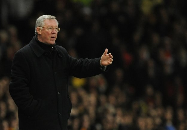 Menedżer Manchesteru United Alex Ferguson /AFP