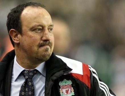 "Menedżer ""The Reds"" Rafa Benitez /AFP"