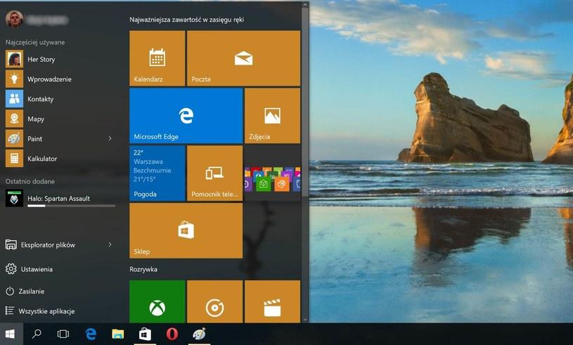 Menu Start i przycisk powracają - koniec problemów znanych z Windows 8 /materiały prasowe