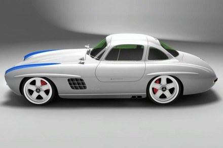 Mercedes 300 SL gullwing panamericana replica /INTERIA.PL