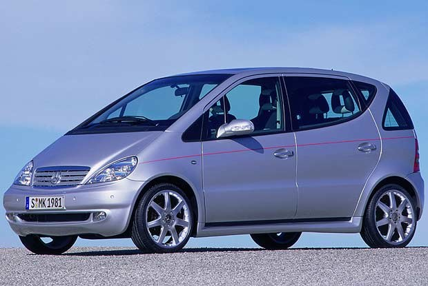 Mercedes A210 EVOLUTION (kliknij) /INTERIA.PL
