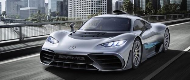 Mercedes-AMG Project One - z F1 na ulice