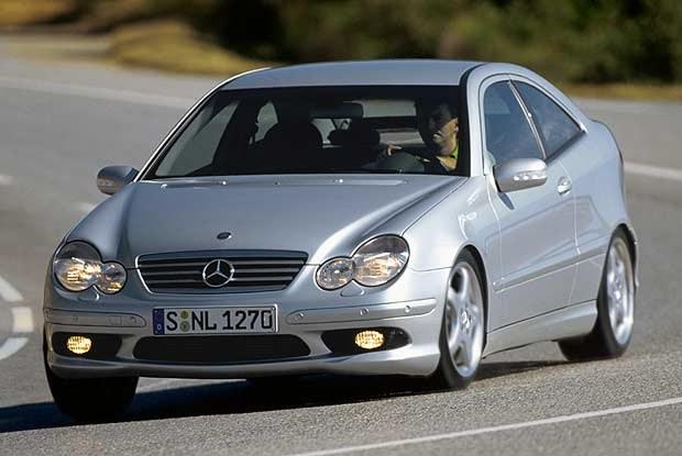 Mercedes-Benz C 32 AMG Sports Coupe (kliknij) /INTERIA.PL