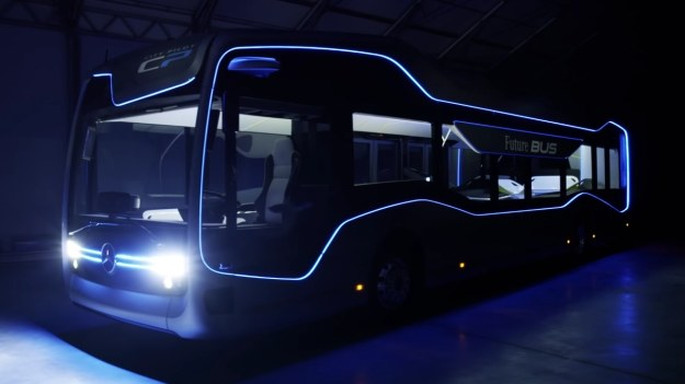Mercedes-Benz Future Bus - zautomatyzowany autobus /INTERIA.PL/informacje prasowe