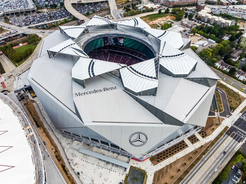 Mercedes-Benz Stadium /materiały prasowe