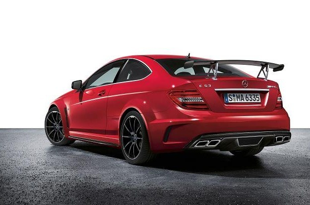 Mercedes C63 AMG black series /
