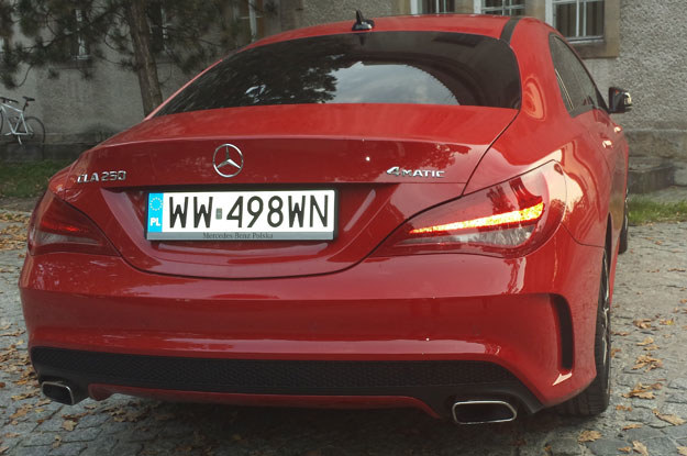 Mercedes CLA 250 4Matic /INTERIA.PL