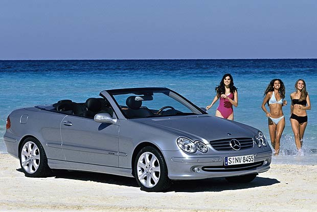 Mercedes CLK kabriolet (kliknij) /INTERIA.PL