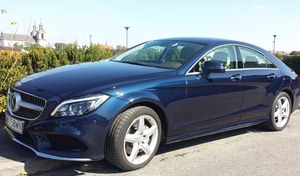 Mercedes  CLS 350 BlueTEC 4Matic. Nasz test