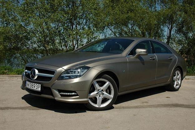 Mercedes CLS /INTERIA.PL