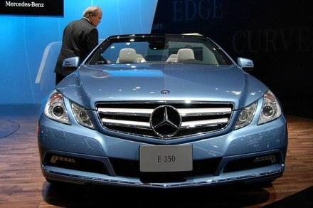 Mercedes E convertible /INTERIA.PL